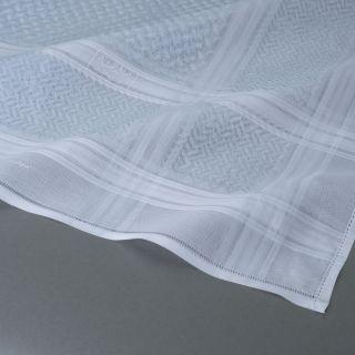 شماغ البسام البصمة البيضاء - سماوي